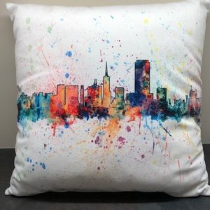 "NEW Pillow decorative 15"" x 15"""